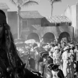 Johnny Depp in Pirates of the Caribbean 5