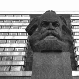 Karl-Marx-Monument in Chemnitz