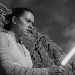 "Daisy Ridley in ""Star Wars"""