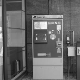 Ticketautomat der LVB