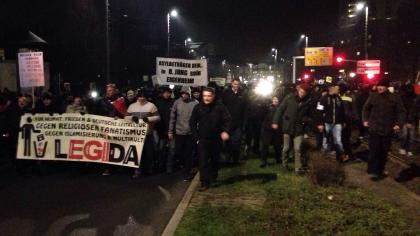 Legida-Demonstranten