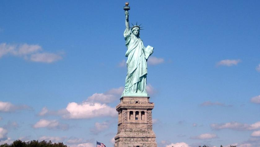 """Statue of Liberty"" in New York"
