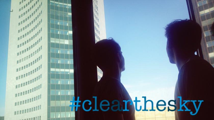 #clearthesky