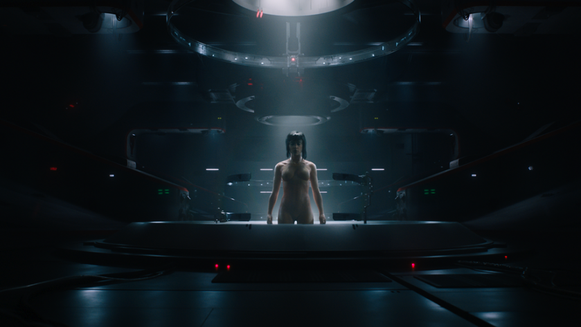 Protagonistin Ghost in the Shell