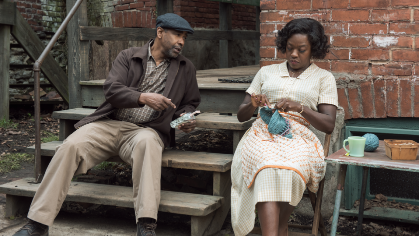 "Viola Davis und Denzel Washington in ""Fences"""